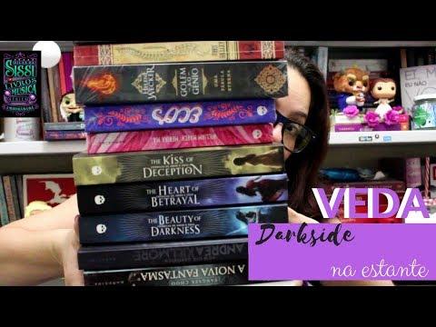 VEDA #23  - Livros da Darkside na Minha Estante - Dicas da Sissi