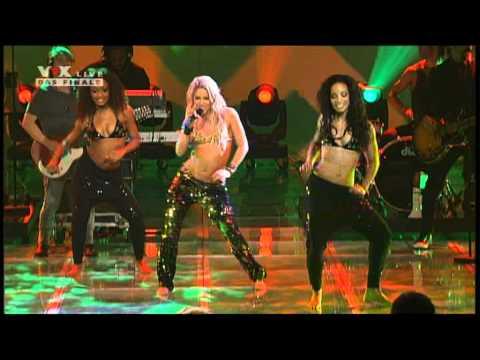Shakira X Factor Germania LiveLoca
