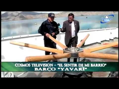 Historia del Barco Yavari parte 01 - Cosmos Televisión