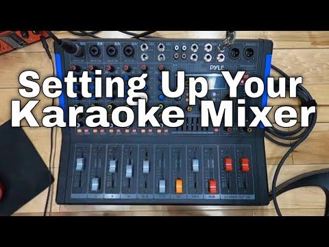🌴 How to use & Setup a Professional Karaoke mixer PMXU-88BT