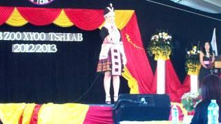 Sacramento Hmong New Year 2012-2013 Contestant#1: Nkauj Naag Hawj