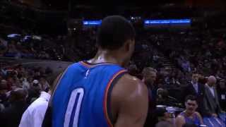 All-Access: Russell Westbrook Mic'd Up on Christmas Day in San Antonio