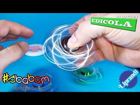 SBABAM - NINJA METAL FINGER SPINNY FIDGET SPINNER - UN SALTO IN EDICOLA RECENSIONE (видео)