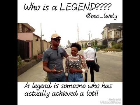 Who is a Legend?????(by Mc Lively)