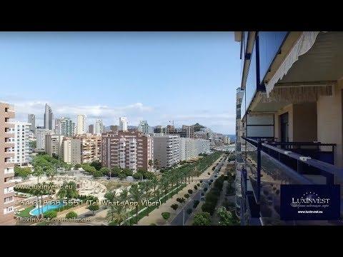 ¡Alquilar un apartamento en Benidorm - en la mejor zona de La Cala a 400m del mar! Urb. Estrella de La Cala 7mo piso