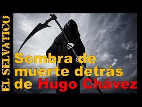 Sombra (¿Muerte?) detrás del Presidente Chavez: llora y se le ...