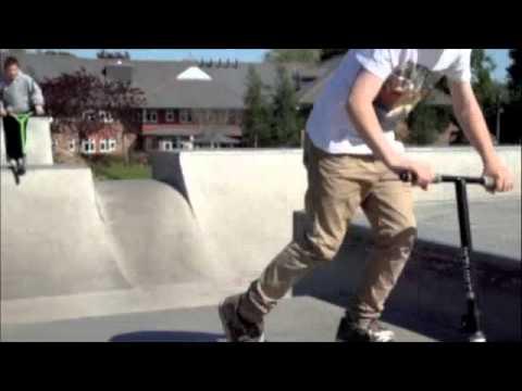 Scooter Sesh At Marlborough Skatepark