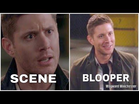 Supernatural Season 11 Gag Reel Bloopers VS Actual Scenes