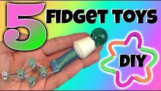 Video 5 NEW DIY FIDGET TOYS - FIDGET TOYS FOR SCHOOL - BACK TO SCHOOL FIDGET TOYS - DIY OLD SCHOOL TOYS MP3, 3GP, MP4, WEBM, AVI, FLV September 2017