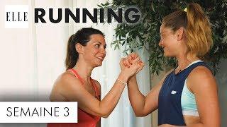 Candice Anzel du blog « Family-deal.com » a pour objectif de courir les 10 km de la course à pied « ELLE Run ». Seul problème, elle n'a pas fait de sport de depuis des années. Pendant deux mois, elle va alors s'entraîner avec Marine Leleu, sportive émérite arrivée seconde à l'Ironman en 2015. Voici la troisième séance de coaching.Abonnez-vous à la chaîne ELLE : http://bit.ly/YouTubeELLERetrouvez ELLE, le magazine féminin de la mode, de la beauté et de toute l'actualité des femmes sur : Elle.fr : http://www.elle.frElle Vidéo : http://videos.elle.frFacebook : https://www.facebook.com/elleTwitter : https://twitter.com/ELLEfrancePinterest : http://www.pinterest.com/magazineellefr/REMERCIEMENTS :Marine Leleu Instagram : https://www.instagram.com/marinlle/?hl=frYoutube : https://www.youtube.com/channel/UCqK1waQtKyHfjEEtMfxvudgCandice AnzelFaceboook : https://www.facebook.com/mamanimparfaites/Site : http://www.family-deal.com/Insta :  candice_mamgyverProduction : LEDCopyright : ©ELLE 2017