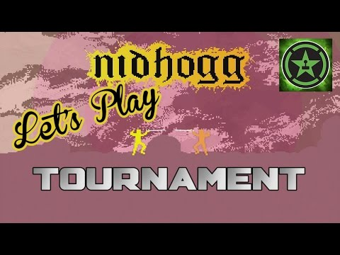 Let's - Achievement Hunter holds another 8-man office tournament to decide who is the king of Nidhogg. Who will reach the FINAL SCREEN?! RT Store: http://bit.ly/ZvZHS1 Rooster Teeth: http://roosterteeth....