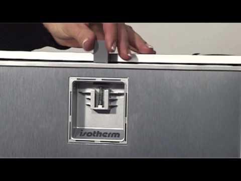 How to install a sliding hinge on Cruise Elegance fridge' door