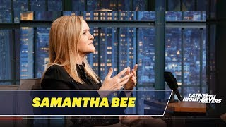 Video Samantha Bee Carved a Message into John Oliver's Last Week Tonight Desk MP3, 3GP, MP4, WEBM, AVI, FLV Januari 2018