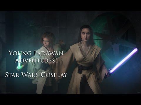 Star Wars Cosplay - Little Padawan Adventures