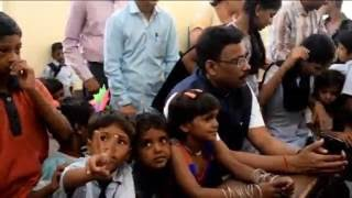 Education Minister Vinod Tawde at First Day of School