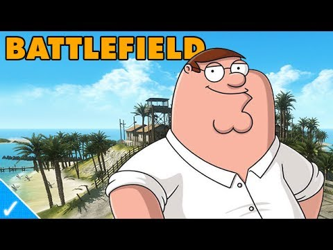 PETER GRIFFIN PLAYS BATTLEFIELD 3