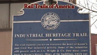 Keene (NH) United States  city photo : Rail Trails of America - Industrial Heritage Trail - Keene, NH