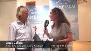 Jesús Calleja, autor de 'Si no te gusta tu vida, ¡Cámbiala! 25-9-2014
