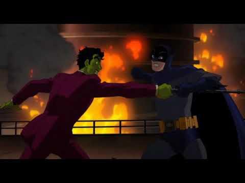 BATMAN VS HARVEY ENDING FULL FIGHT Batman Vs Two Face 2017 HD (Adam West Last Movie)