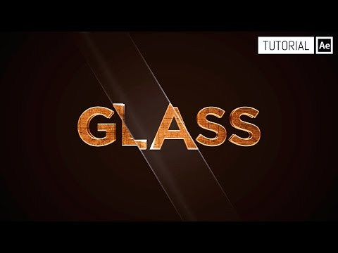 Efecto Glass - Tutorial After Effects
