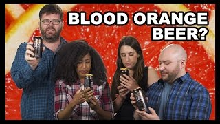 Ti is back with the Tasted Drinking Squad to taste test a beer made with blood oranges.  Is it any good?  Probably not.  But, there's only one way to find out!Have you ever tried the Blood Orange Wit from Refuge Brewery?  Let us know in the comments!! Are you new? Then catch up with a few hundred episodes of The Food Feeder: http://goo.gl/z1ypZ Want to know what's going on with Food Feeder and Tasted in the future?Follow us on for updates:Ti: http://youtube.com/nappyheadedjojobaNoah: http://www.twitter.com/GalutenTasted: http://www.twitter.com/TastedChannelOh and we're on The Facebook: http://www.facebook.com/TastedChannelTune in to the Food Feeder with Tasted's food guru, Noah Galuten. Noah's been there and done that in pretty much every aspect of the culinary scene from his stint as a popular food writer for LA Weekly to now opening his own highly anticipated BBQ restaurant. Hop on for the ride as Noah gives us the inside scoop on what's hot and happening in the world of fascinating food from breaking news, to awesome events, cool chefs, incredible restaurants and all around good eats. Noah's the guy for everything you ever wanted to know about food... and then some.Watch more recent videos on Tasted:Burger King's Mac N' Cheetos a RIP OFF??? - Food Feederhttps://youtu.be/KAunJFUP1_cMcDonald's Walk-Thru Lane - Food Feederhttps://youtu.be/FlSK-aSERb0Cheeto Burritos from Taco Bell - Food Feederhttps://youtu.be/BgU8IIt54dcMcGriddles All McDay? - Food Feederhttps://youtu.be/_MfkXZyFfB8The Most Expensive Wine in the World! - Food Feederhttps://youtu.be/xUCCCo2_e1YGrass-fed Burgers...from Chili's... - Food Feederhttps://youtu.be/CbbEtRCvv-cUgh.  Even Kale Is Bad for You Now - Food Feederhttps://youtu.be/pjj07OeyjKoBlack Ice Cream?!?!?! - Food Feederhttps://youtu.be/SAY6RbwRtMUA Restaurant for Cereal?!?!? - Food Feederhttps://youtu.be/QRX_agRZ_WMS'mores & Red Velvet Chips Ahoy! + Microwave = ??? - Food Feederhttps://www.youtube.com/watch?v=shodHcZ7CXgCheetos & Doritos IN ONE BAG?!?!?! - Food Feederhttps://www.youtube.com/watch?v=fYFsRKpP488Jif's Hazelnut Cheesecake Spread Gives Us a Sugar High!! - Food Feederhttps://www.youtube.com/watch?v=zRQax1UkRfUWe're Finally Trying Sriracha Cheez-It Snack Mix! - Food Feederhttps://www.youtube.com/watch?v=1N2Li6iE01oMaple Bacon Pop Tarts, In Our Face Holes. - Food Feederhttps://www.youtube.com/watch?v=0AXomF59F9gDoes Hershey's Simply 5 Syrup Taste Better Than The Original??? - Food Feederhttps://www.youtube.com/watch?v=GKtOuIP5ukUBad News for Soda Fans! - Food Feederhttps://www.youtube.com/watch?v=WSGBaXHtf0oWatermelon Pop Tarts, And They're Not Even Expired - Food Feederhttps://www.youtube.com/watch?v=l5jliEzLakMDo S'mores M&Ms Taste Like Camping? - Food Feederhttps://www.youtube.com/watch?v=zkBf5gz6hdoNoah's Back and He's Eating Chicken Fries Rings!! - Food Feederhttps://www.youtube.com/watch?v=Rpn5hpj_mm4Keurig + Krispy Kreme!!! - Food Feederhttps://www.youtube.com/watch?v=cecc3aRTEAAA Shake Shack Burger with PORK RINDS ON IT?! - Food Feederhttps://www.youtube.com/watch?v=z6fUc4tC2OIHealthy Hershey's?!?!?! - Food Feederhttps://www.youtube.com/watch?v=W237MO9LmS4Starbucks Wants You To Have S'More!!! - Food Feederhttps://www.youtube.com/watch?v=hEzyoW6Cas8Burger King's Latest Mashup: Whoppers + Hot Dogs - Food Feederhttps://www.youtube.com/watch?v=kzaAnFBr1ncIf You Like It Then You Make A Chicken Ring Of It!! - Food Feederhttps://www.youtube.com/watch?v=KvqDyYVzU4ESonic Got Jacked… With Flavor!! - Food Feederhttps://www.youtube.com/watch?v=fcO4Sp2fels