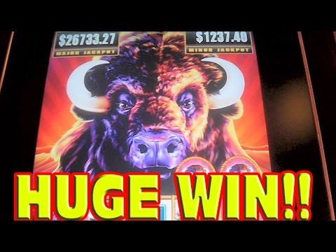 buffalo slot machine wins