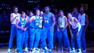 2016 Countdown to Craziness Duke Player Intros (10/22/16)