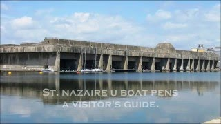 Saint-Nazaire France  city images : St. Nazaire U Boat Pens ~ A visitor's guide.