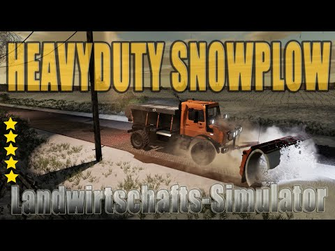 Heavyduty Snowplow v1.0