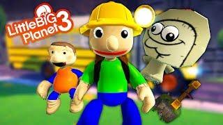 LittleBigPlanet 3 - FREE Baldi's Basics Camping Costumes - Baldi's Basics Field Trip Giveaway
