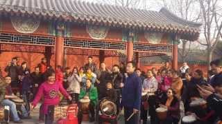 Drum meet-up in HouHai, BeiJing 北京