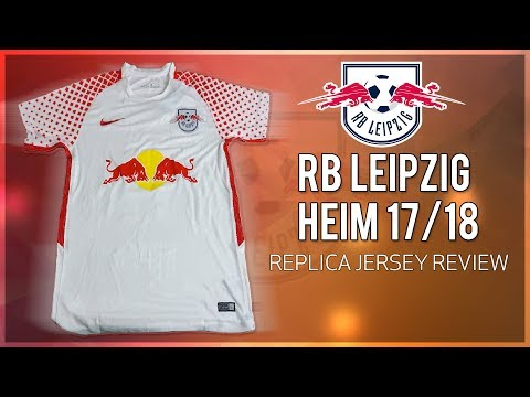 RB Leipzig Heimtrikot 2017/18 Unboxing | 20$ Replica Jersey Review