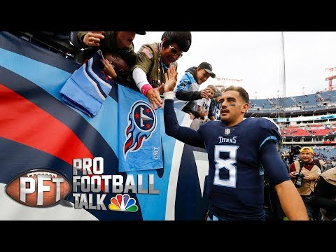 Video: How Mariota, Titans knew how to carve up Patriots' defense I Pro Football Talk I NBC Sports
