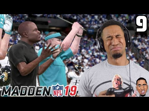 Madden 19 Career Mode - THE KICKER MUST BE ON DRUGS! #9 (видео)