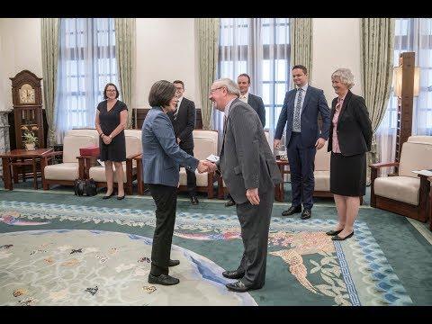 蔡總統:學習英國經驗 以達2025年非核家園目標[影]