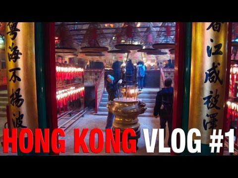 Hong Kong - Temples, villages, used cameras & Snake Soup!