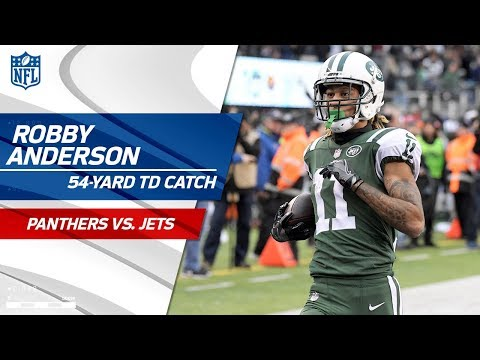 Video: Robby Anderson Goes Deep for His 2nd TD of the Game! | Panthers vs. Jets | NFL Wk 12 Highlights