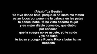 El Boy C Ft Farruko Alexio La Bestia y Almighty  No Voy A Dejarte LETRA