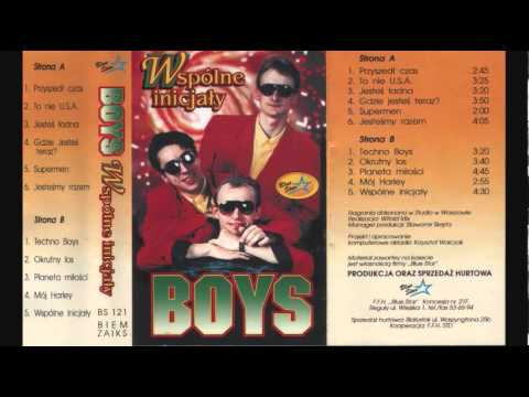 Tekst piosenki Boys - Techno Boys po polsku