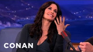 Courteney Cox Loves To Prank The Paparazzi - CONAN on TBS