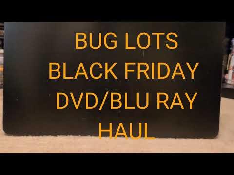 BIG LOTS BLACK FRIDAY DVD/BLU RAY MOVIE HAUL