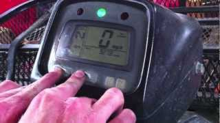 3. How To: Reset Honda Oil Change Indicator