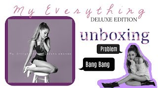 Unboxing MY EVERYTHING (DELUXE EDITION) - ARIANA GRANDE