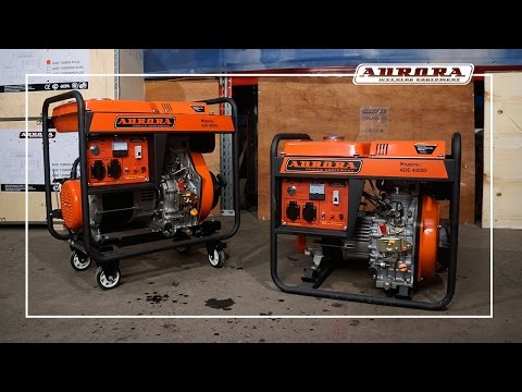 Обзор дизельных генераторов Aurora 4500D и 6500D
