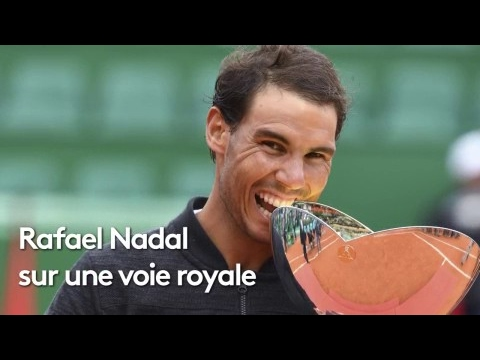 Rafael Nadal sur une voie royale