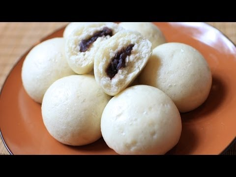 How To Make Red Bean Paste Buns / 豆沙包
