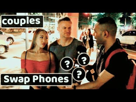 Should couples check each other's phone? 커플들은 서로의 전화 보기