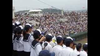 【新庄高校応援】瀬戸内高校 vs 新庄高校 広島県高校野球甲子園予選決勝戦2013年7月30日