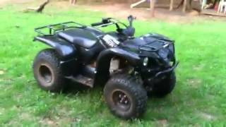 2. My 2008 Yamaha Grizzly 125