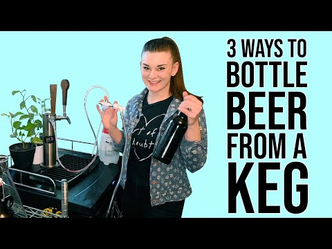 3 Ways to Bottle off a Carbonated Keg